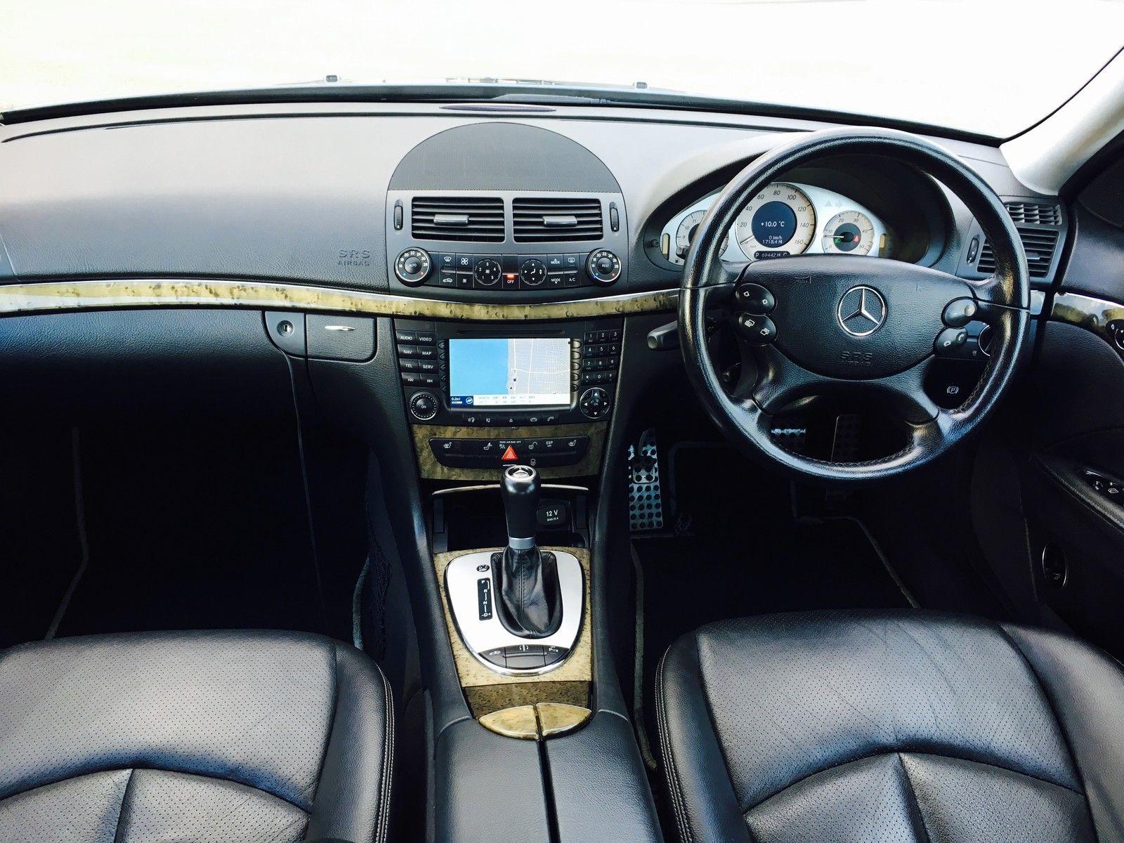 2005 Mercedes Benz E320 Cdi Sport Auto Grey M Cars