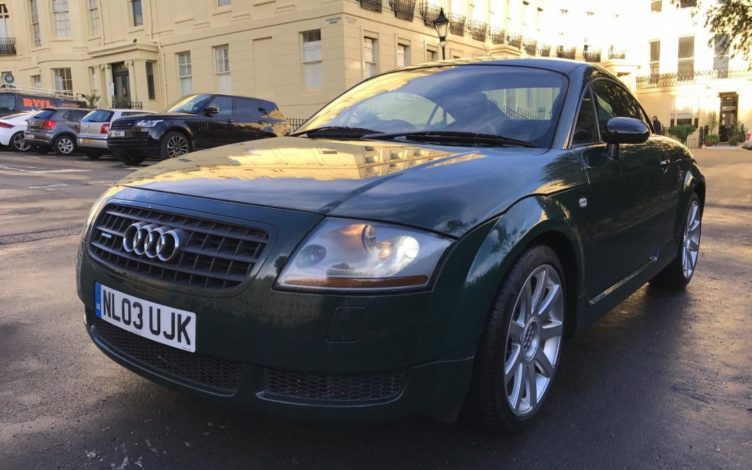 2003 audi tt 1 8t 225 roadster quattro green m cars. Black Bedroom Furniture Sets. Home Design Ideas